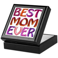 Best Mom Ever - fabspark colorful 3D  Keepsake Box