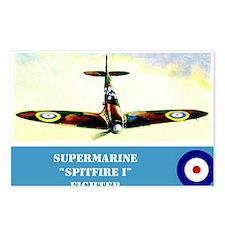 Supermarine Spitfire Postcards (Package of 8)