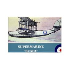 Supermarine Scapa Rectangle Magnet