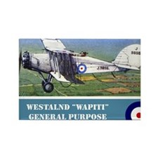 Westland Wapiti Rectangle Magnet