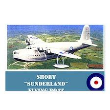 Short Sunderland Postcards (Package of 8)