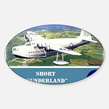 Short Sunderland Decal