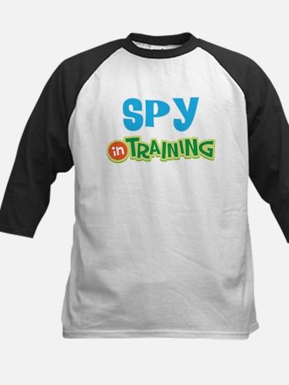 Spy in Training Kids Baseball Jersey
