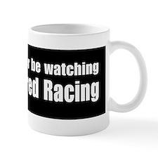 Thoroughbred Racing Bumper Sticker Mug