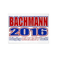 Bachmann President 2016 Crazy Back 5'x7'Area Rug
