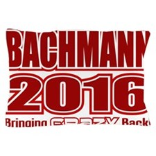 Bachmann President 2016 Crazy Back Pillow Case