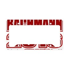 Bachmann President 2016 Crazy License Plate Holder