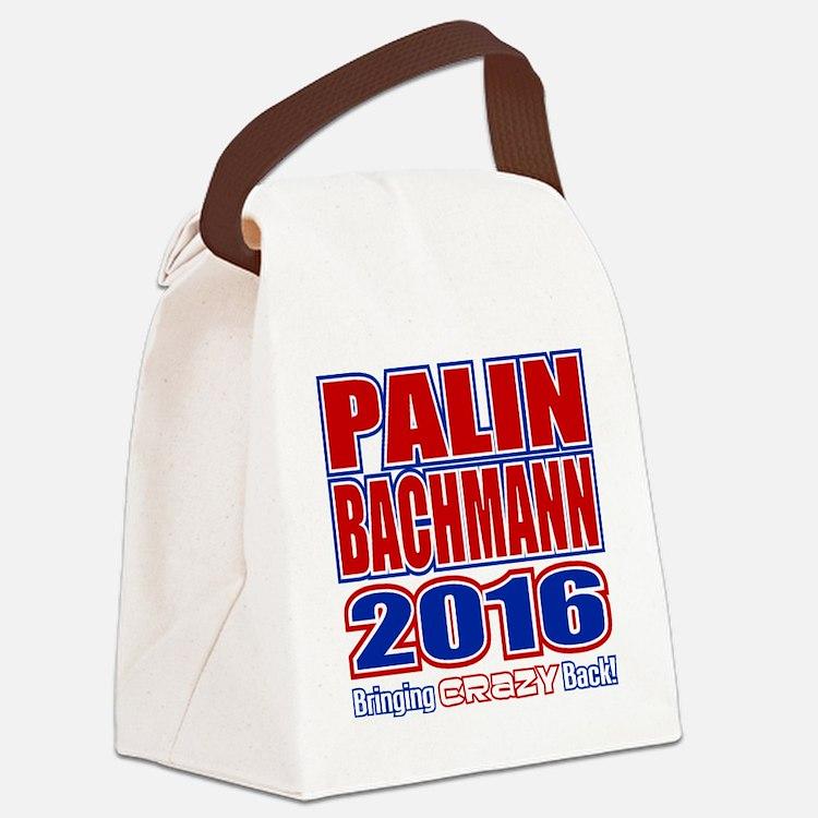 Bachmann Palin President 2016 Cra Canvas Lunch Bag