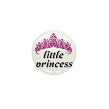 Little Princess 2 Vector Mini Button