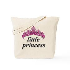 Little Princess 2 Vector Tote Bag