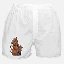 Nurse Ellen Woodhill Whiskers Boxer Shorts