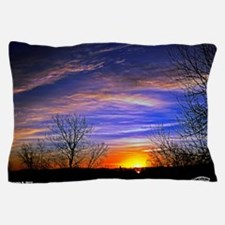 sunrise clouds Pillow Case