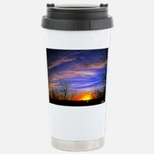 sunrise clouds Travel Mug