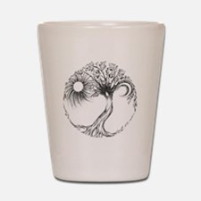Tree of Life Design Shot Glass