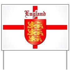 England - Coat of Arms Yard Sign