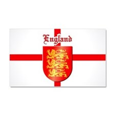 England - Coat of Arms Car Magnet 20 x 12