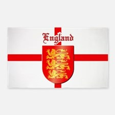 England - Coat of Arms 3'x5' Area Rug