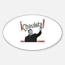 Chavista! Oval Decal