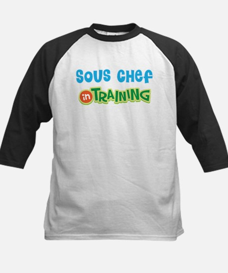 Sous Chef in Training Kids Baseball Jersey