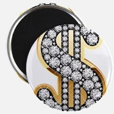 Gold Dollar Rich Magnets