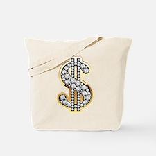 Gold Dollar Rich Tote Bag
