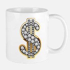 Gold Dollar Rich Mugs