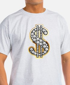 Gold Dollar Rich T-Shirt