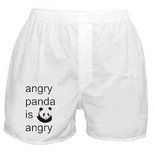 angry panda is angry Boxer Shorts