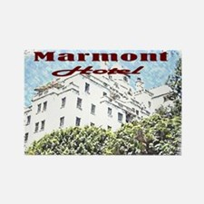 Chateau Marmont Rectangle Magnet