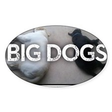 Run with Big Dogs - Labs Decal