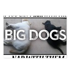 Run with Big Dogs - Labs Postcards (Package of 8)