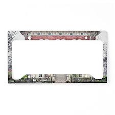 The Reddick Mansion License Plate Holder
