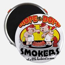 Mope and Dope Smokers Magnet