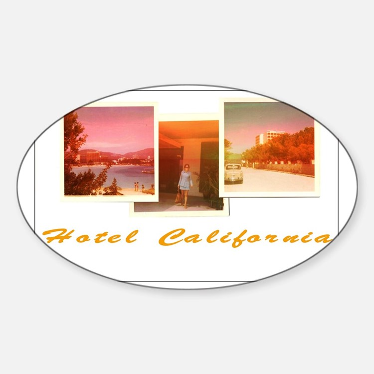 Hotel California Decal