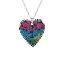 Butterfly Gathering Tree Of L Necklace