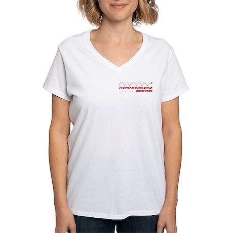 Berger Play Women's V-Neck T-Shirt