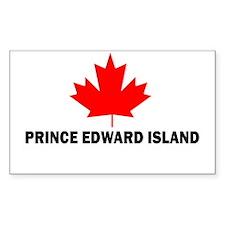 Prince Edward Island Rectangle Decal