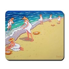 Sisters of the Sea- Beach Mousepad