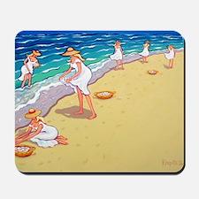Sisters of the Sea- Beach Mousepad
