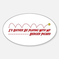 Berger Play Oval Decal