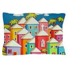 Little Village Pillow Case