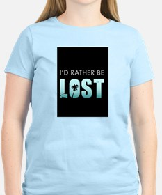 Id-rather-be-lost-(4G-s T-Shirt
