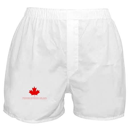 Prince Edward Island Boxer Shorts