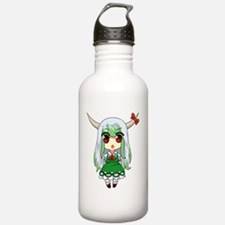 Chibi Hakutaku Keine Water Bottle