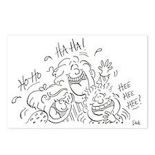 Laughers Mug Postcards (Package of 8)