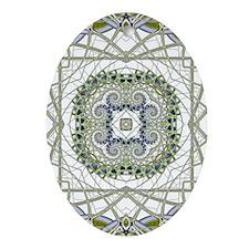 Fusion Oval Ornament