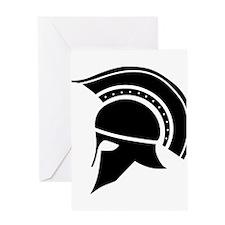 Greek Art - Helmet Greeting Cards