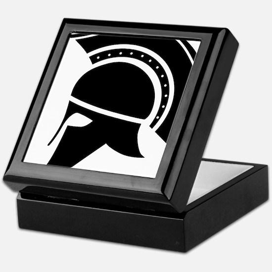 Greek Art - Helmet Keepsake Box