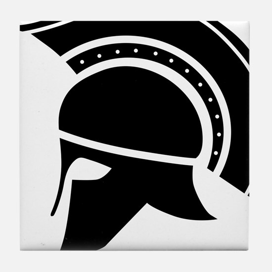 Greek Art - Helmet Tile Coaster