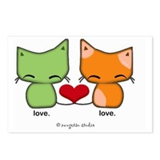 love.love.cats Postcards (Package of 8)